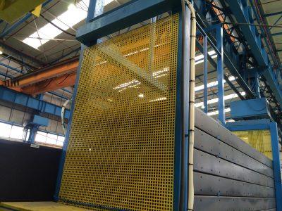 Paneles completos para evitar acceso a zonas peligrosas
