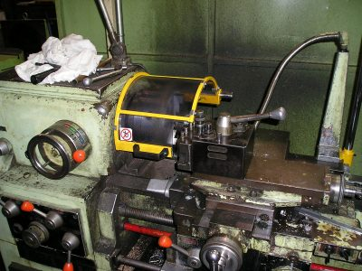 Conventional parallel lathe adaptation